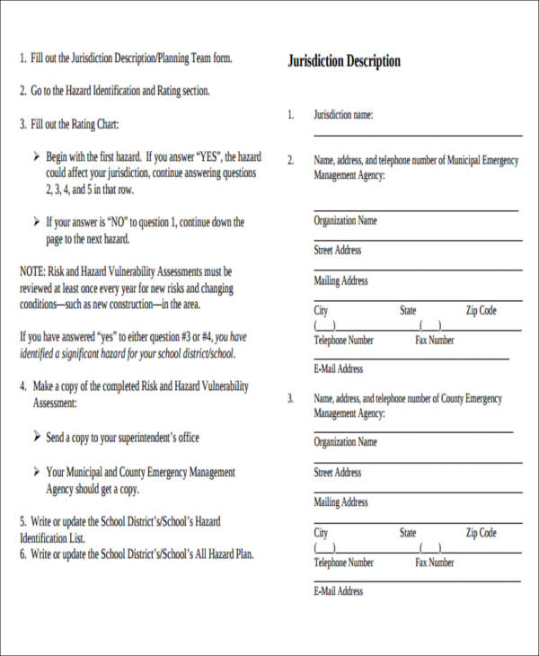 Security Assessment Template: 43 Free Assessment Forms