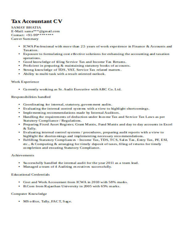 resume sles accountant - 28 images - accounting resume sles 28 ...