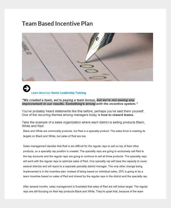 sales team incentive plan1