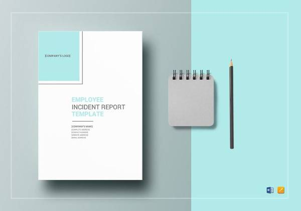 sample employee incident report template