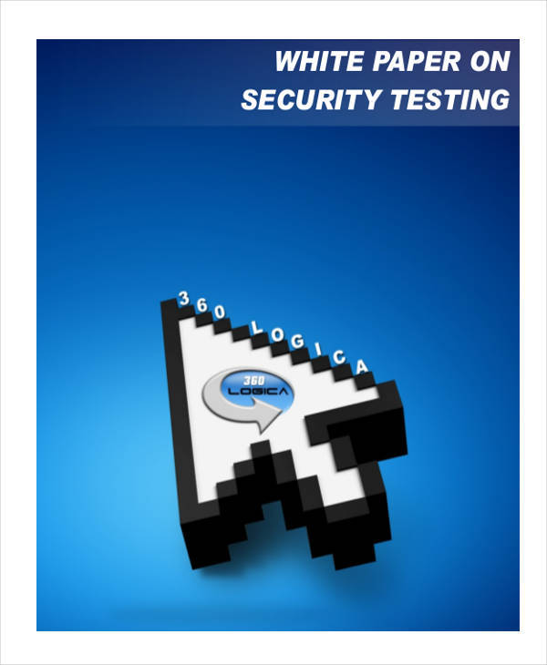 security testing white paper