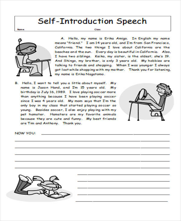 self introduction speech in pdf2