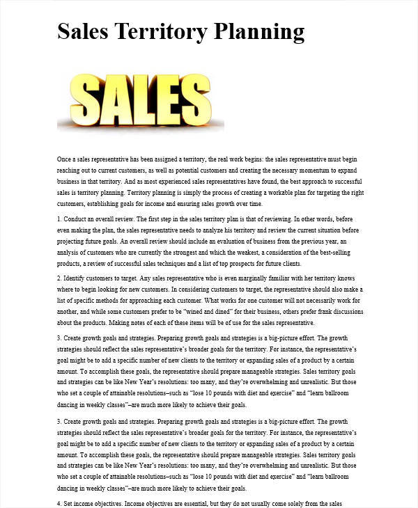 Sales Plan Formatssimple Sales Plan Simple Sales Plan