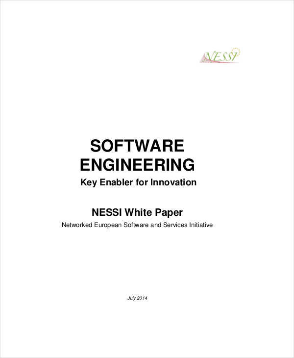 software product white paper