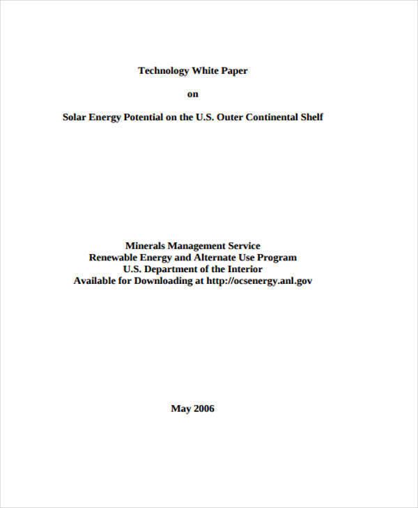 solar energy white paper3