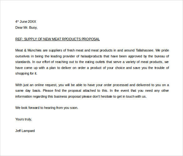Product Proposal Letter Task 2C2 2 Sample Advertising Proposal