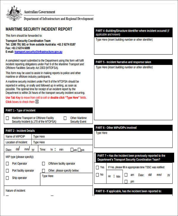 written security incident report1