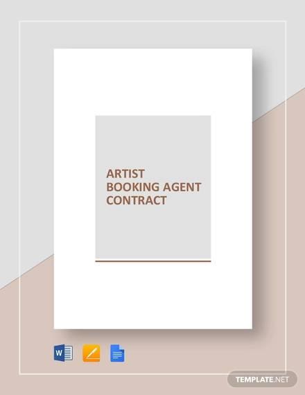 artist booking agent