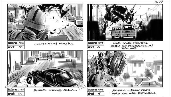 Film Storyboards | Film Storyboard 7 Examples In Word Pdf