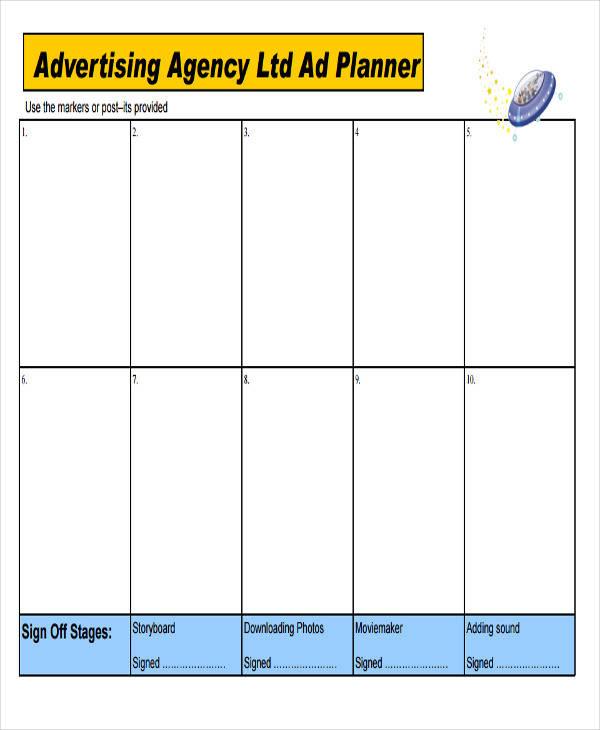 agency advertising storyboard