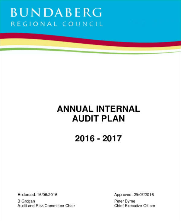 annual internal audit plan template 7 audit plan samples templates sample templates