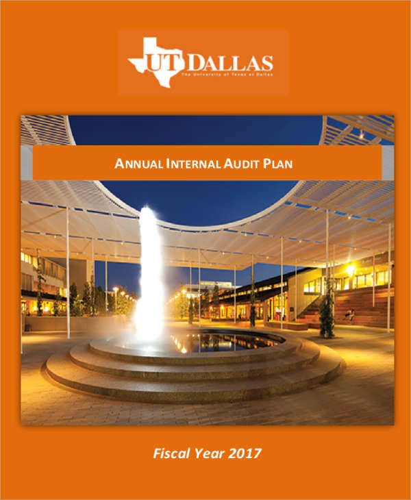 annual internal audit plan1