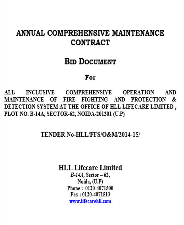 annual maintenance contract2