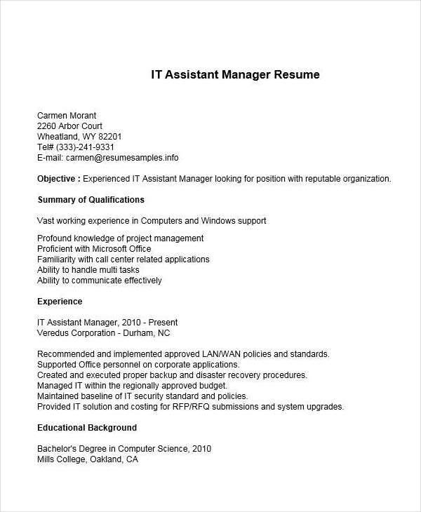 assistant it manager1