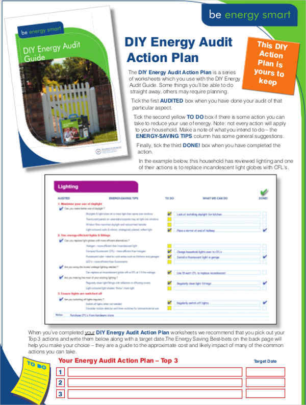 audit action plan