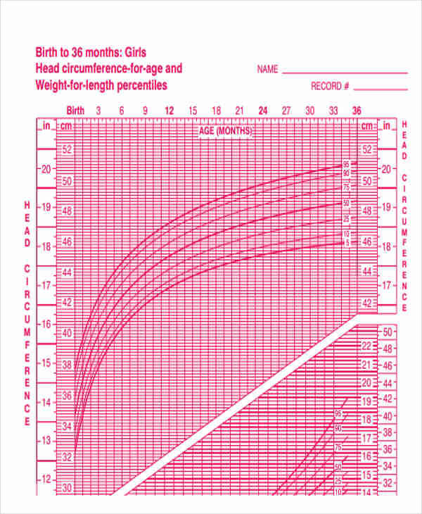 48 Printable Chart Templates – Cdc Growth Chart Template