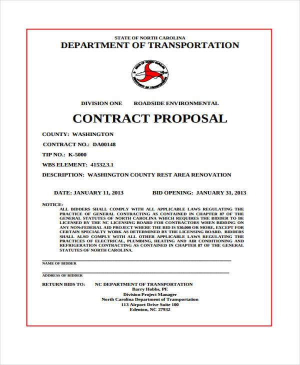basic proposal contract3