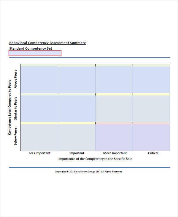 behavioral competency