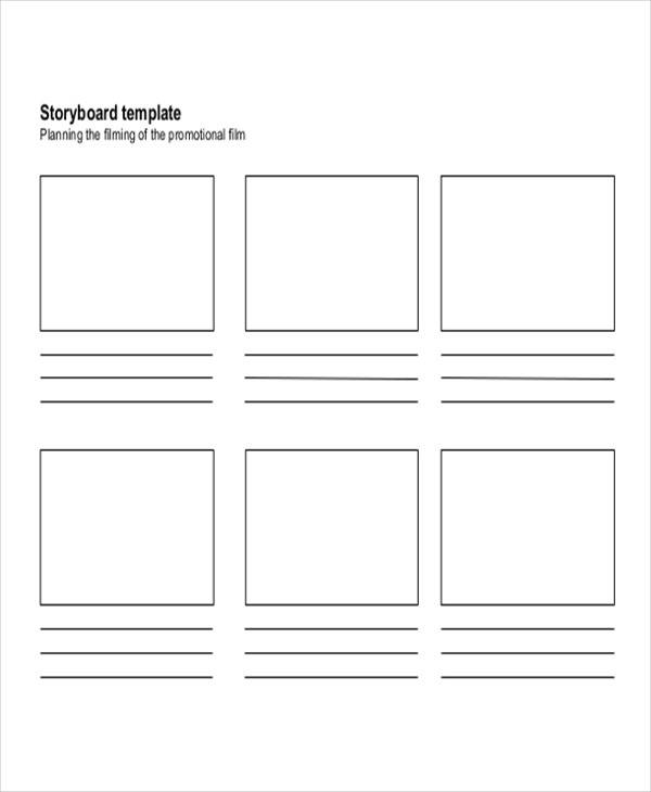 7  movie storyboard