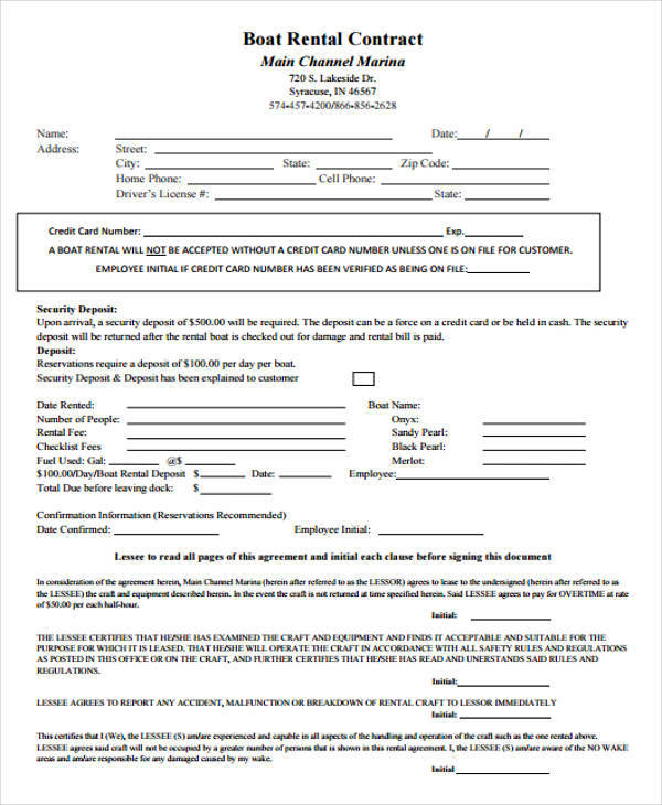 boat rental contract1