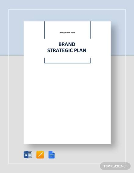 brand strategic plan