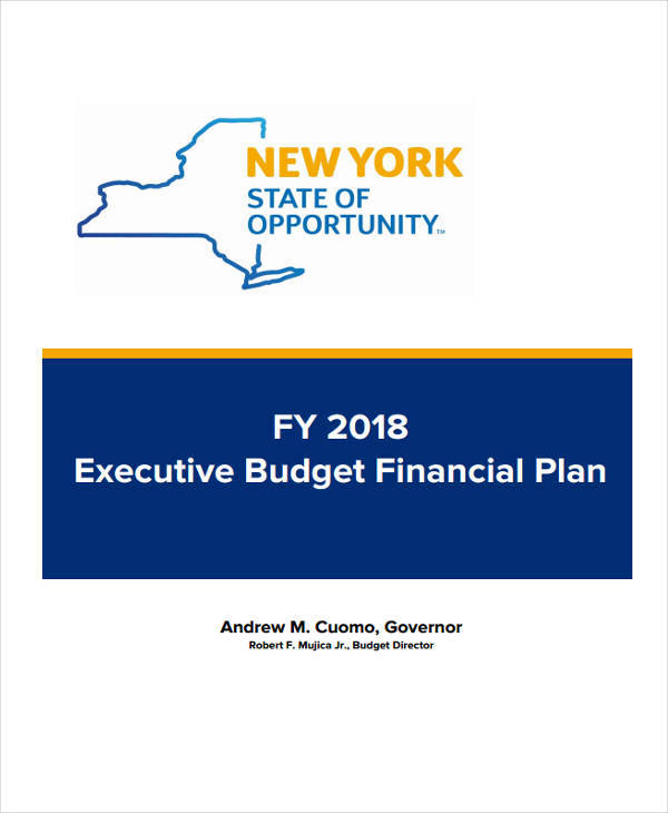 budget plan proposal