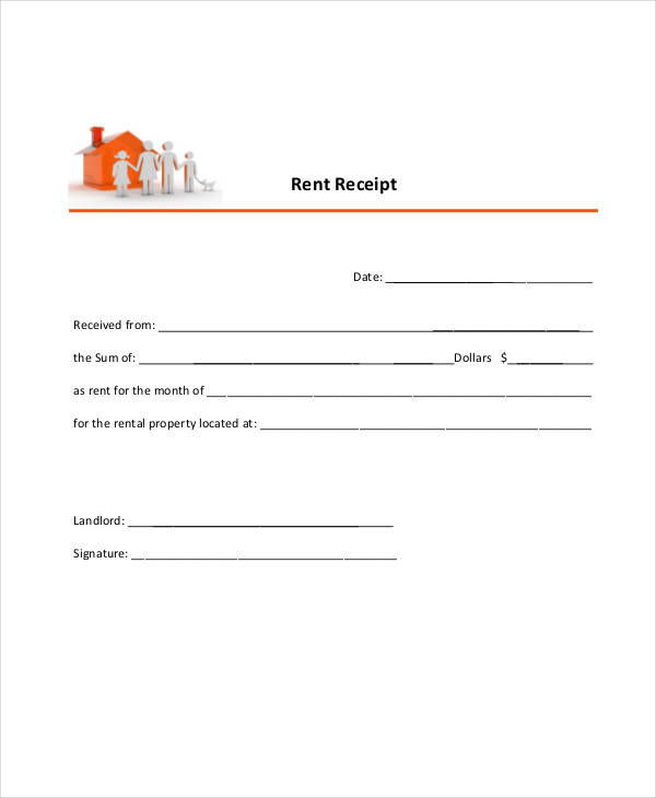 building rent invoice