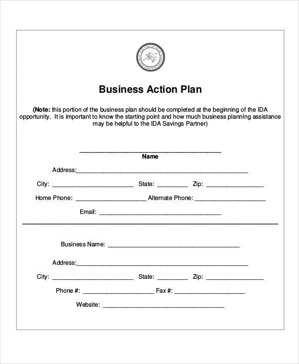 business action plan3