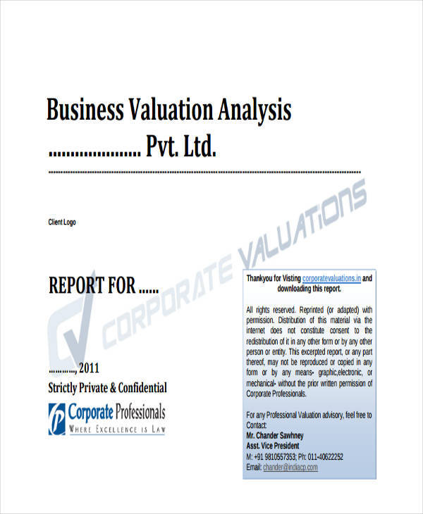 Nice Business Analysis And Valuation Report