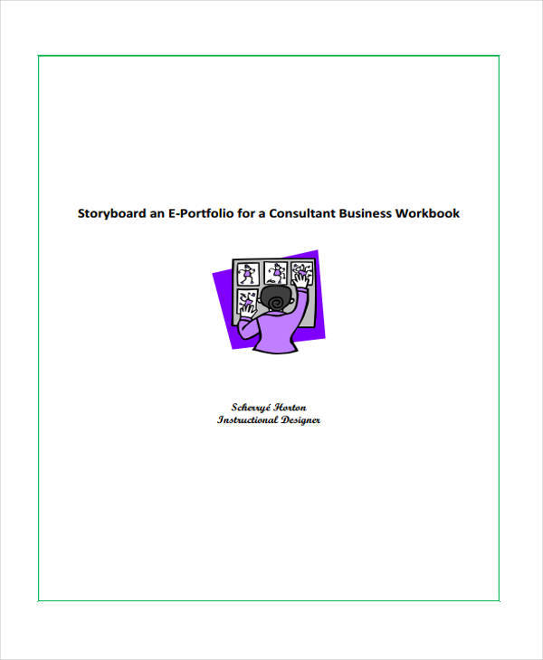 business consultant storyboard