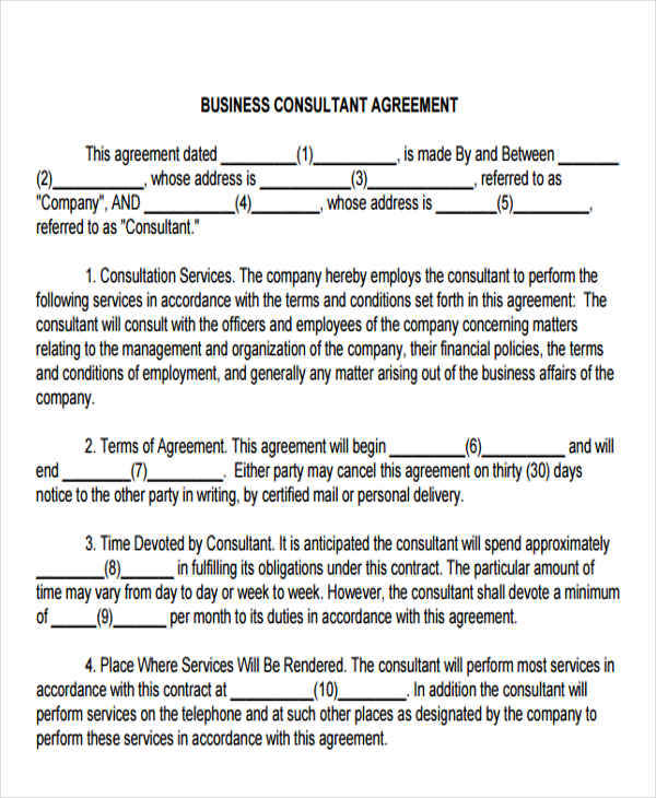 business consulting contract3
