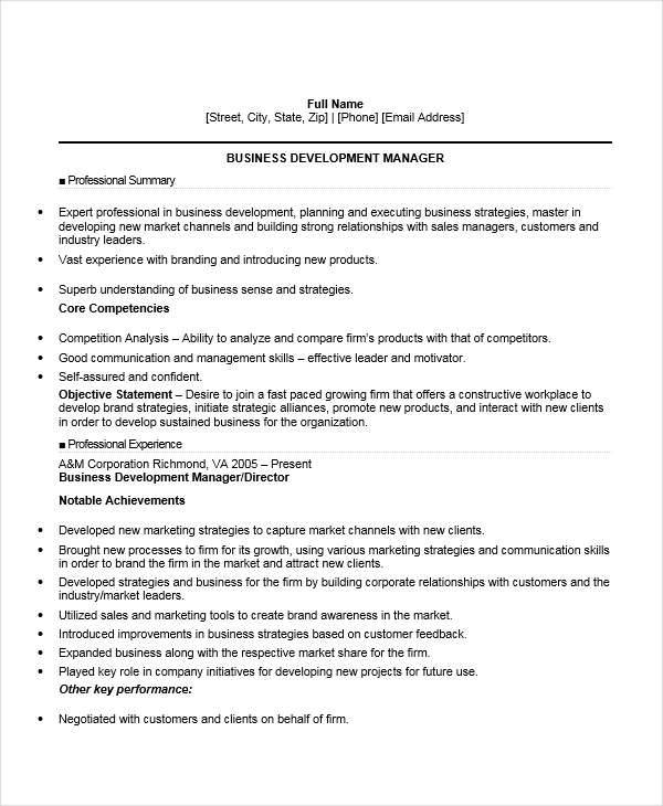 15 Project Manager Skills For Resumes Product Management: 52+ Manager Resume Example