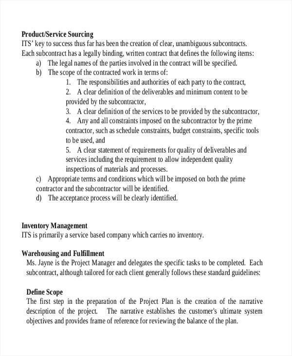 business proposal for it company