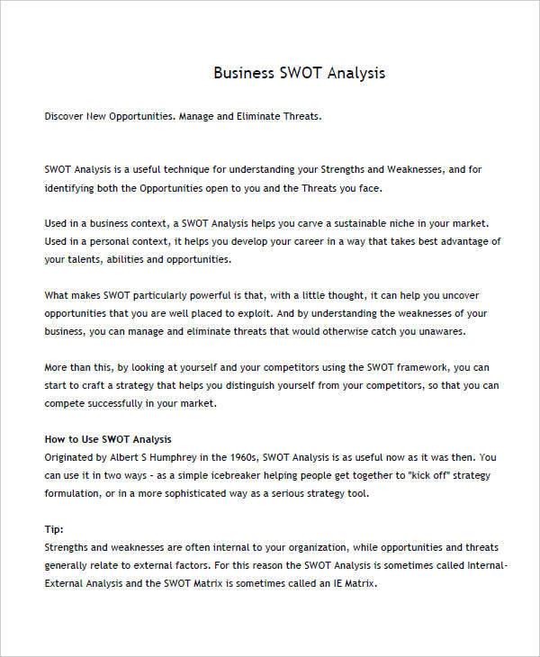 business swot1