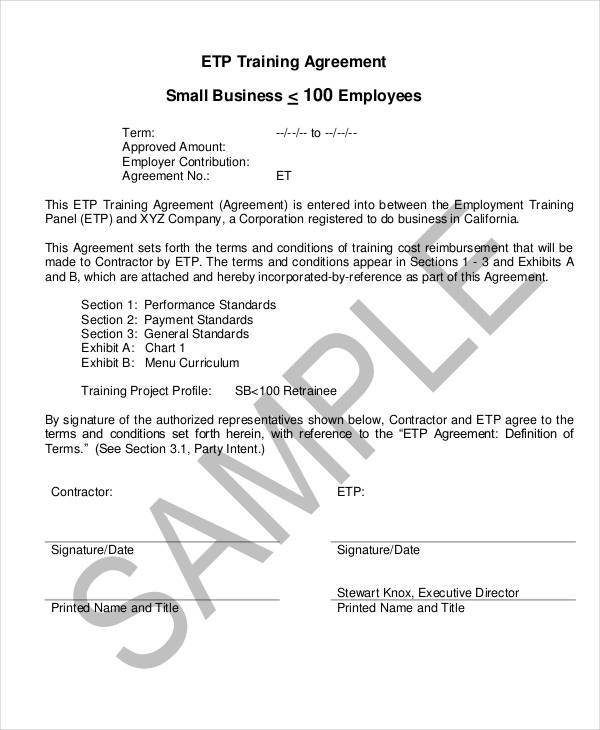 business training contract1