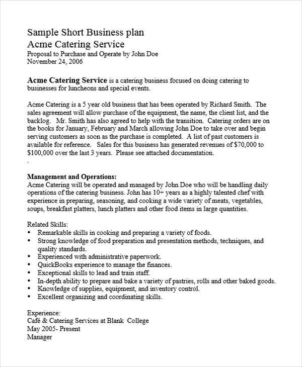 catering business plan2
