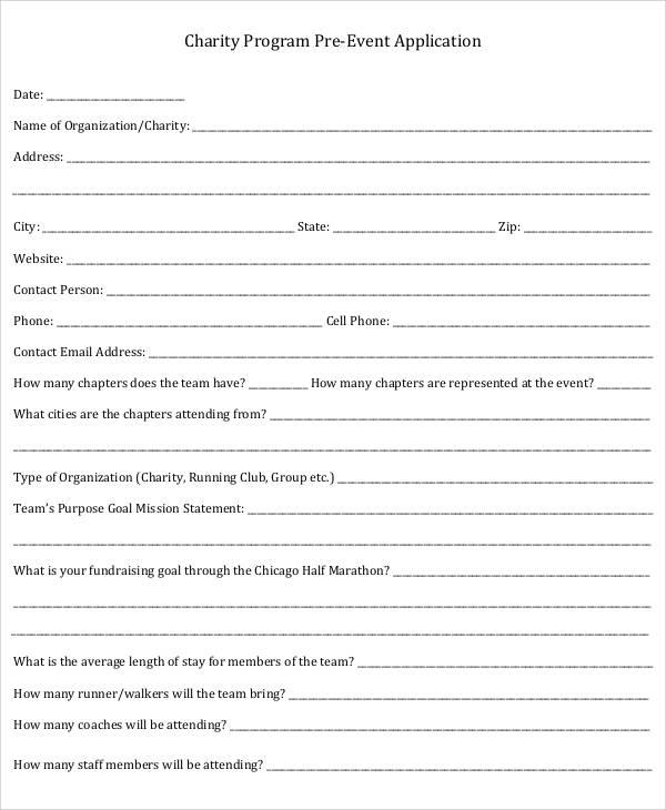38  event program templates  u2013 pdf