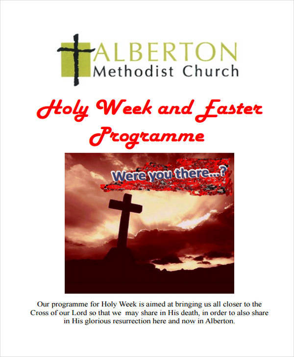 church ester program2
