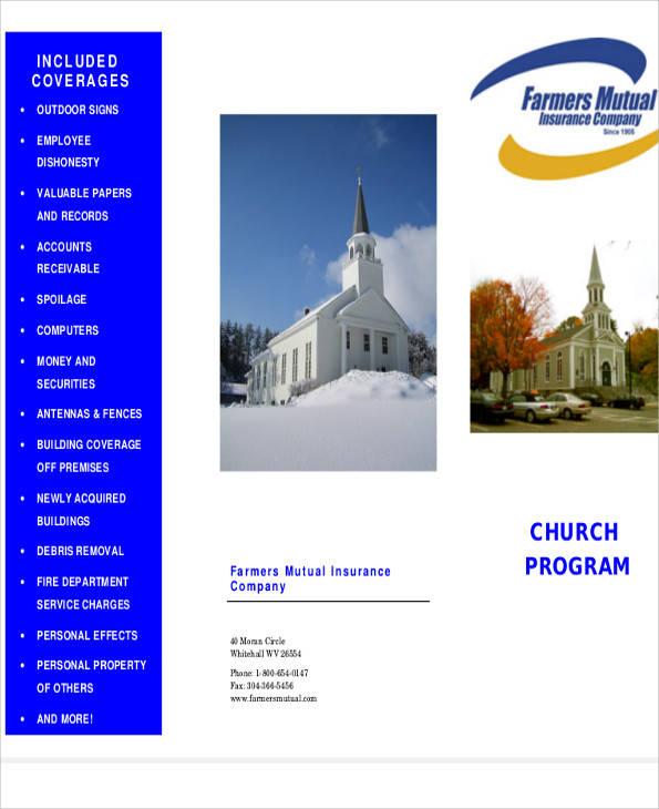 church program sample