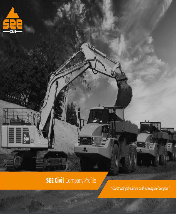civil construction company profile