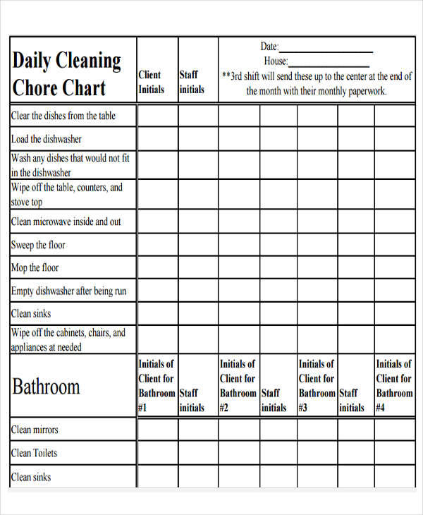 cleaning chore chart1