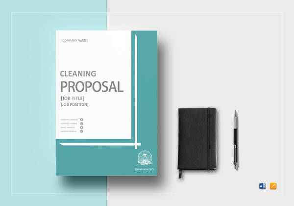 Cleaning Proposal Templates  Free Documents In Word Pdf