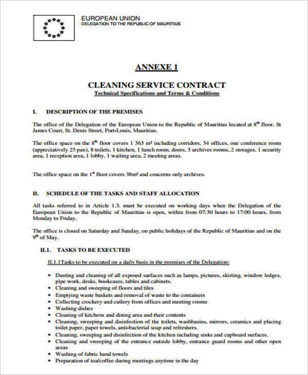 cleaning services contract2