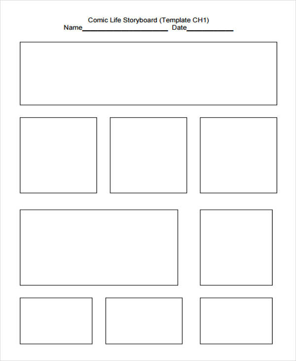 36 Sample Professional Storyboard Templates Sample Templates