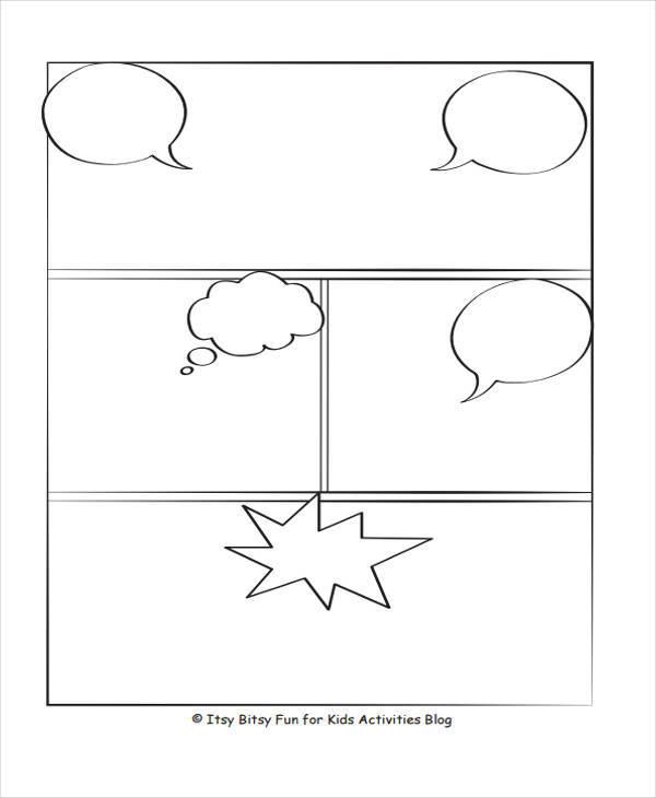 7  comic storyboard