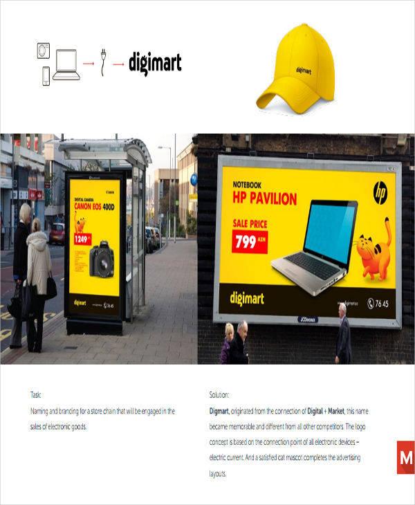 company advertising profile