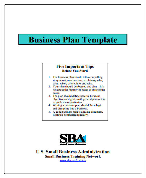 company business plan template