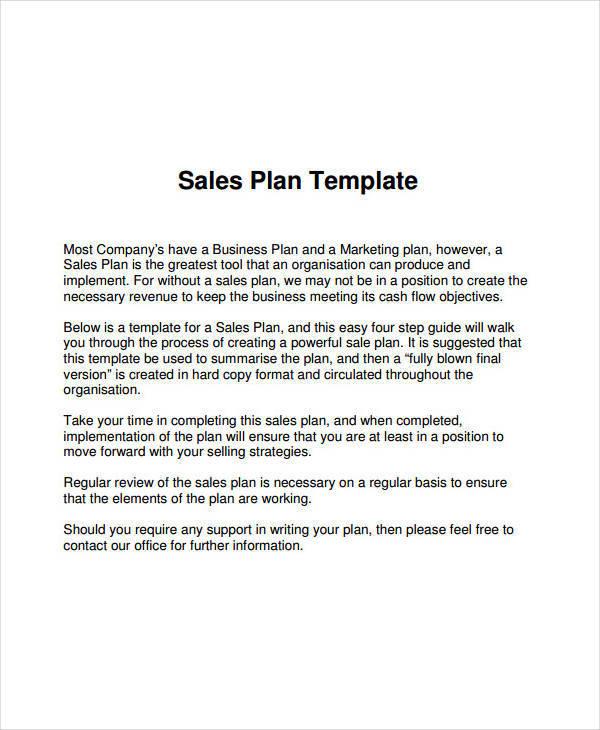 company sales plan1