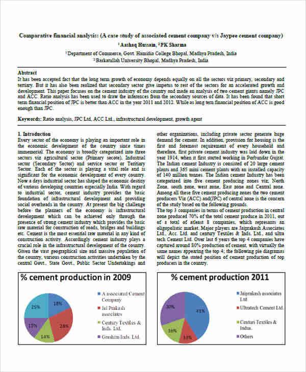 comparative financial1