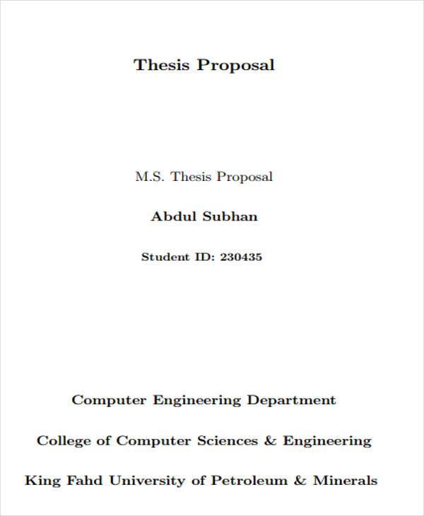 thesis proposals for computer engineering Computer engineering final thesis topic list: establishing a virtual classroom hunting down computer viruses in a systematic way creating a biometrics attendance system for a manufacturing company.